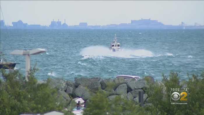 Dangerous Waves, Currents Persist On Lake Michigan