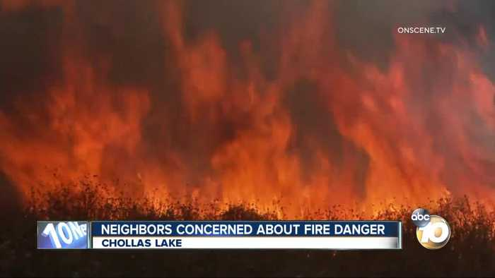 Fires flare up concerning neighbors