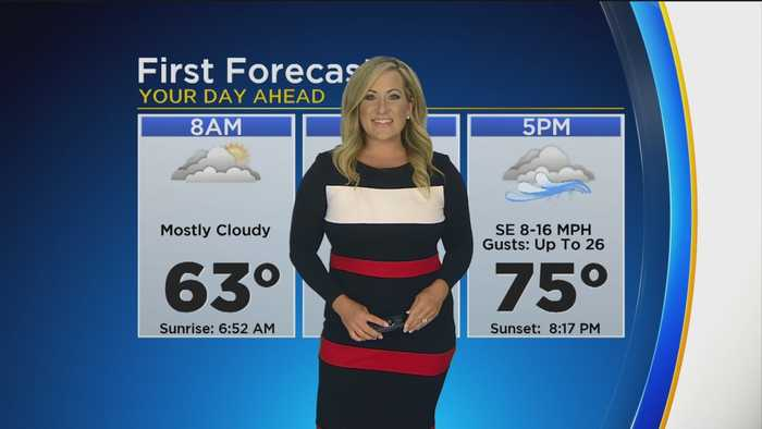 First Forecast This Morning- Monday August 26, 2019