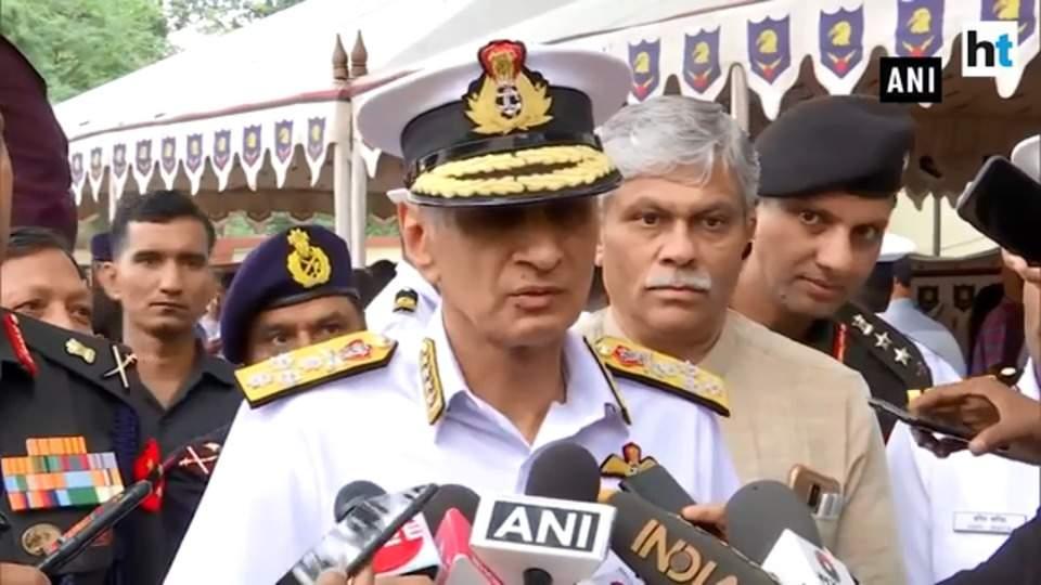 Navy chief reveals intel of Jaish-e-Mohammad training 'underwater wing'