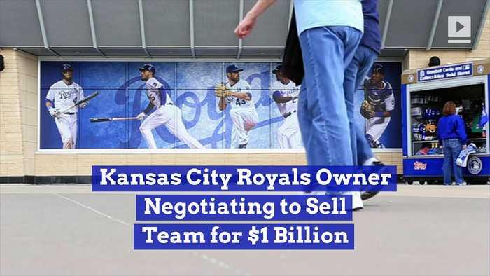 Kansas City Royals Owner Negotiating to Sell Team for $1 Billion