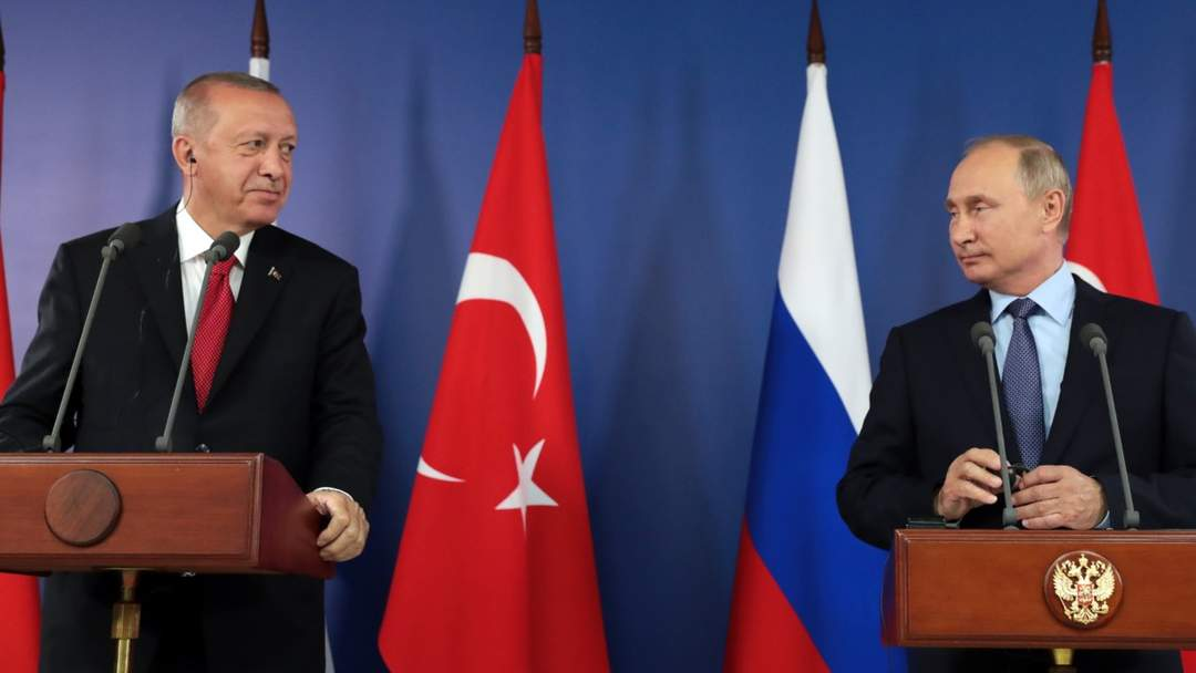 Turkish President Attends MAKS Aviation Show In Russia