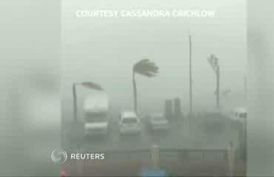 Dorian intensifies into hurricane, heading for Puerto Rico