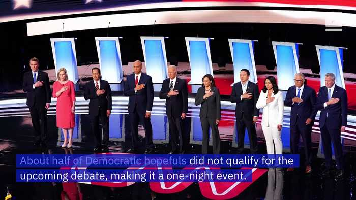 The September Democratic Debate Will Be One Night Only