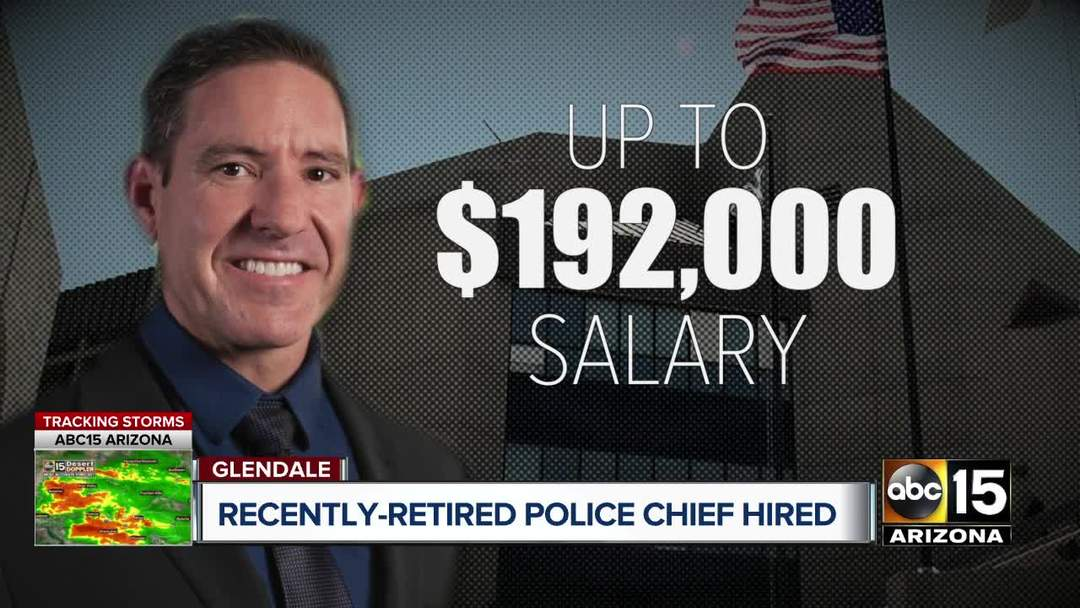 Retired Glendale PD chief hired to city, still getting pension