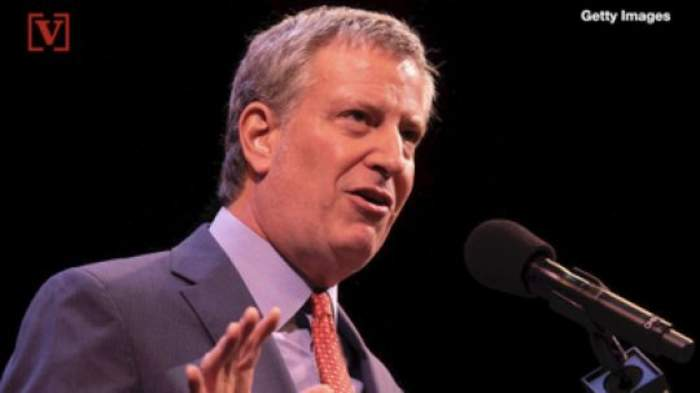 """NYC Mayor de Blasio, Police Commissioner Get """"No Confidence"""" Vote from NYC Police Union"""