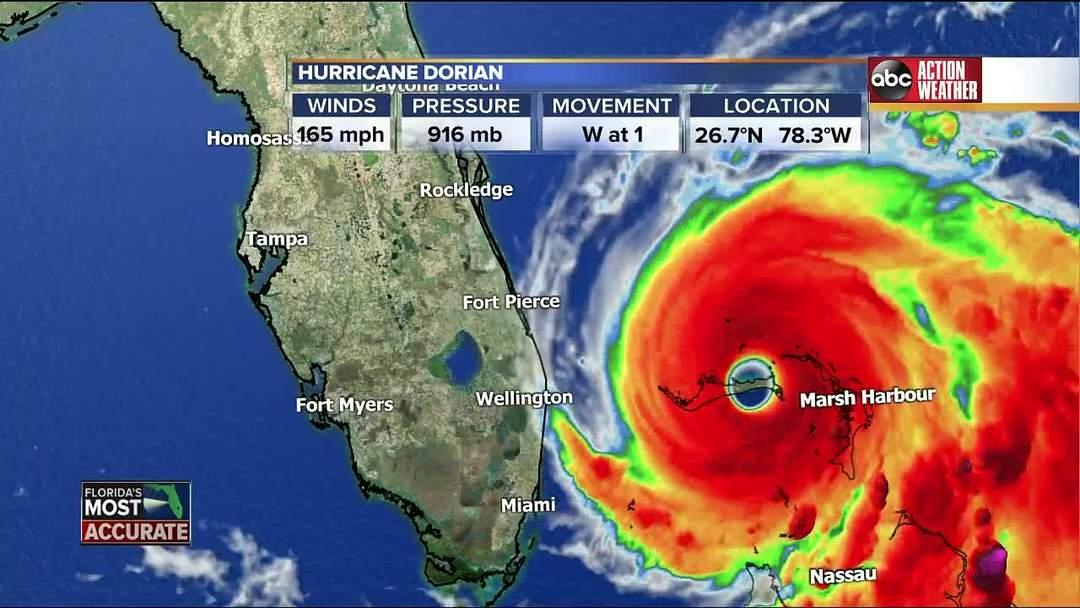 Tracking Hurricane Dorian   9 a.m. update