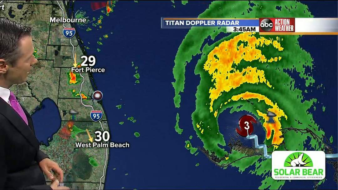 Tracking Hurricane Dorian   Tuesday 5 a.m. update