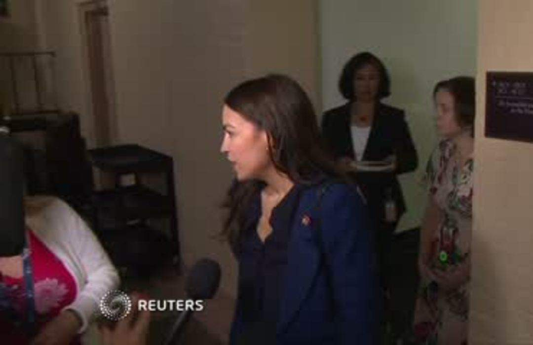 Time for action on guns: AOC