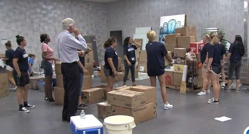 Relief effort brings community together