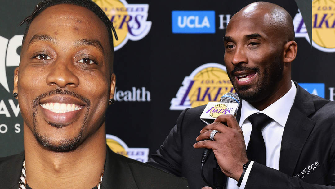 Kobe Bryant Thinks Dwight Howard Will HELP The Lakers Win Another  Championship