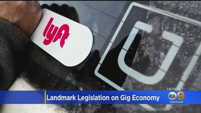 California Senate Passes Landmark Labor Bill That Would Impact Nearly 1 Million 'Gig Economy' Workers