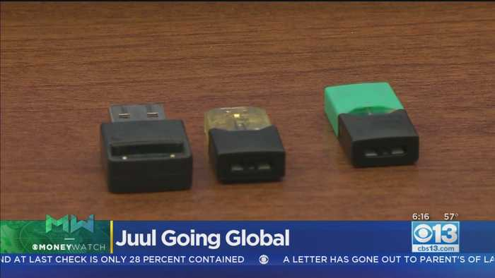 Moneywatch: Juul Going Global As US Starts Cracking Down On Vaping