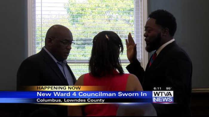 Beard becomes new Columbus councilman