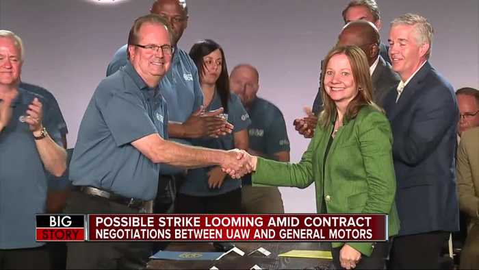 Possible strike looming amid contract negotiations between UAW and General Motors