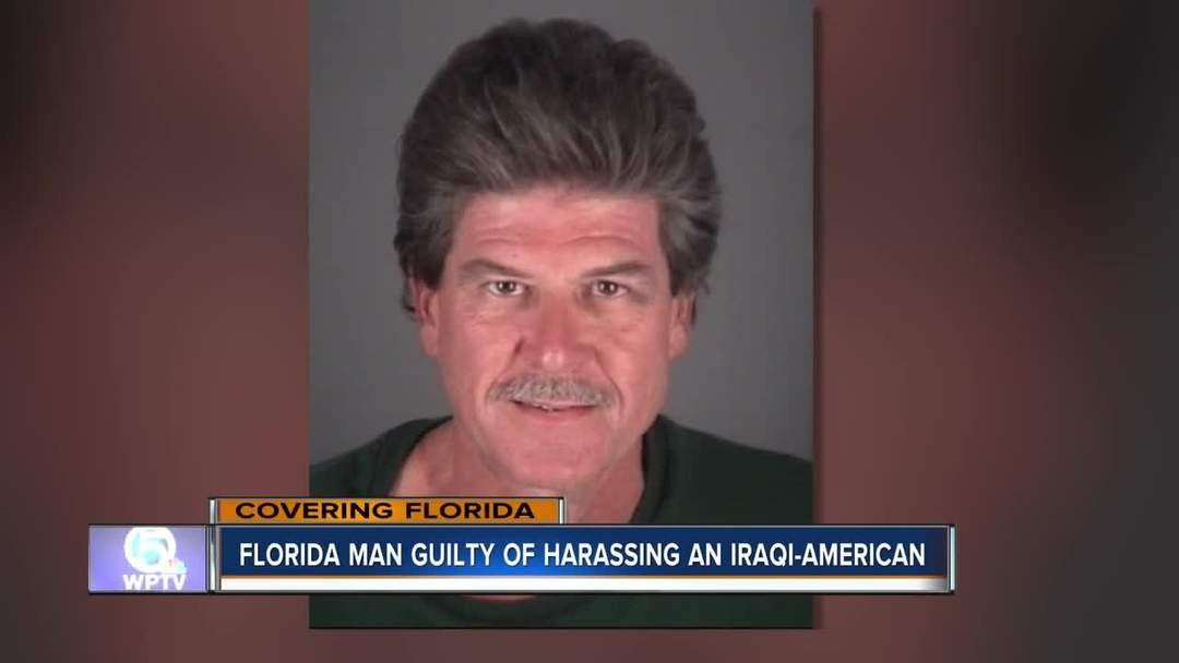Florida man guilty of harassing an Iraqi-American family