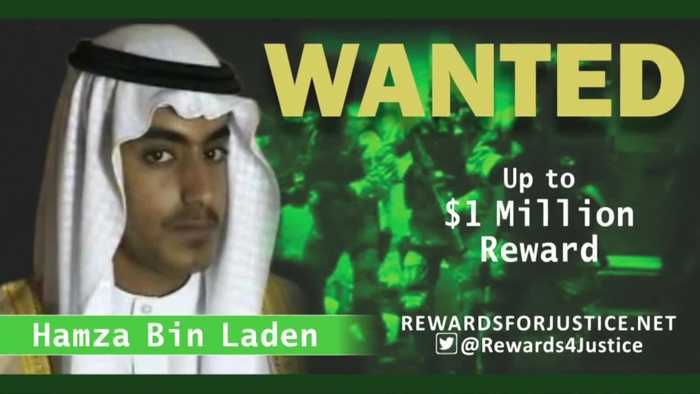 Osama bin Laden's son Hamza is dead -White House