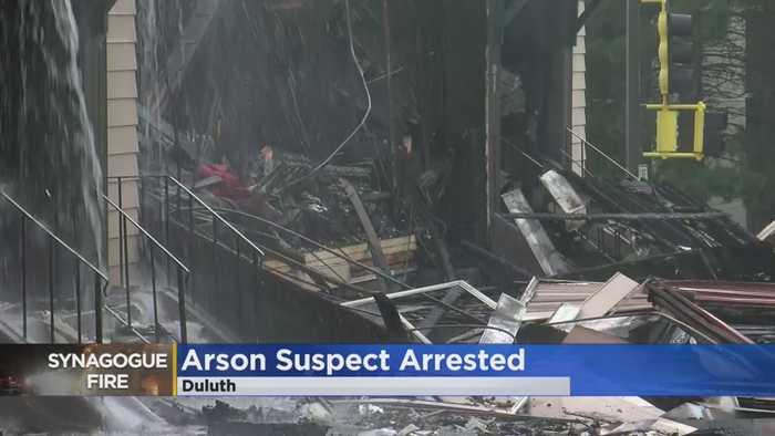 Duluth Police Arrest Synagogue Arson Suspect