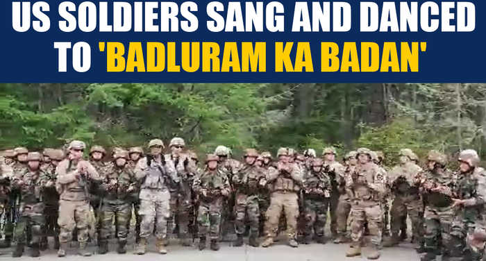 Indian, American soldiers singing Assam Regiment's marching song, goes viral | Oneindia News