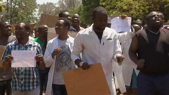 Zimbabwe doctors protest alleged abduction