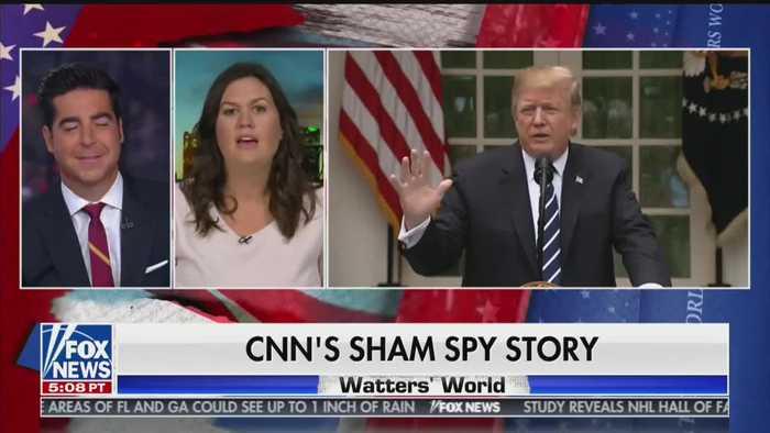 Sarah Sanders slams the media