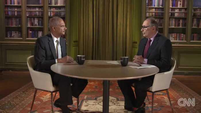 Eric Holder cautions against prosecuting Trump