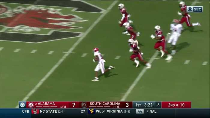 09/14/2019 Alabama vs South Carolina Football Highlights
