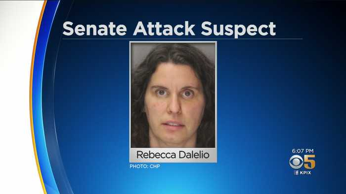 Details Emerge About Woman Who Allegedly Threw Red Liquid At CA Lawmakers