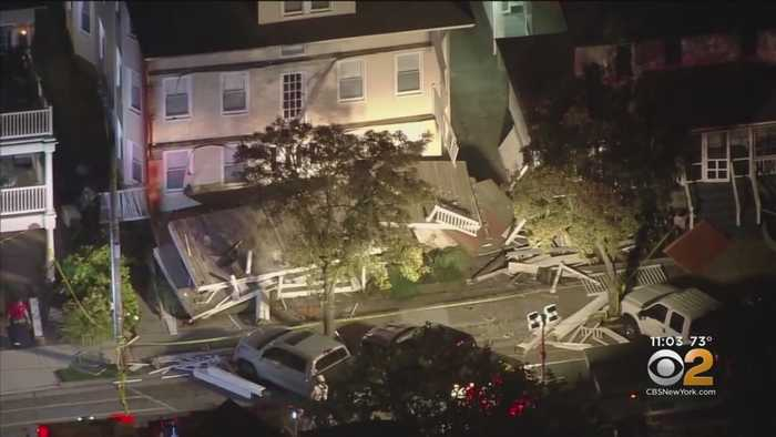 Deck Collapse Injures 22 At Jersey Shore