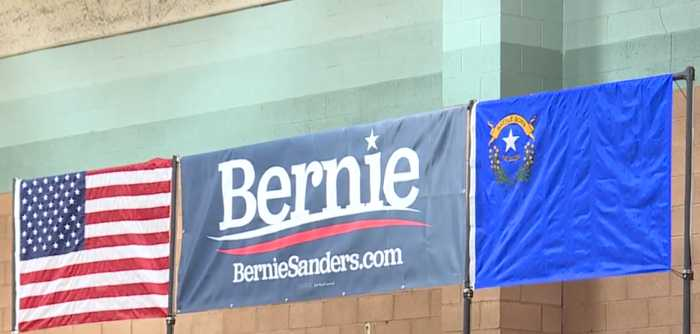 Bernie Sanders touches on climate change, student debt in Vegas rally