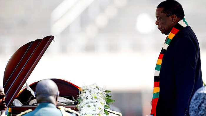 'Son of Africa': African leaders attend Mugabe state funeral