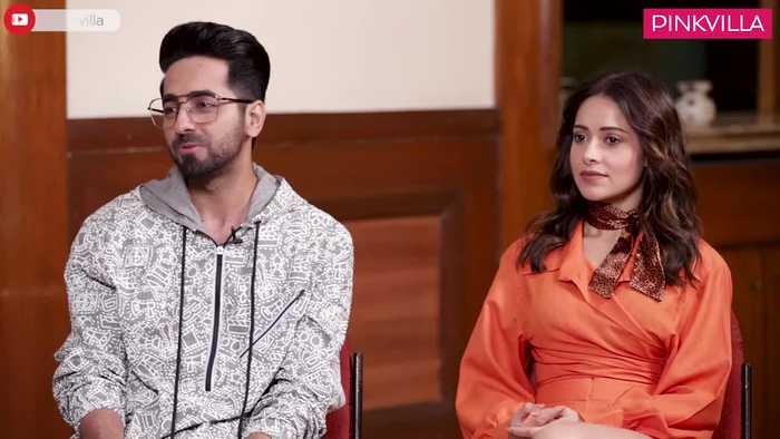 Dream Girl Ayushmann Khurrana and Nushrat Bharucha OPEN UP on depression National Award Pinkvilla