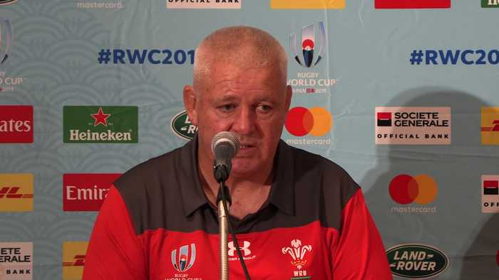 Warren Gatland: Wales is ready to get down to business for Rugby World Cup