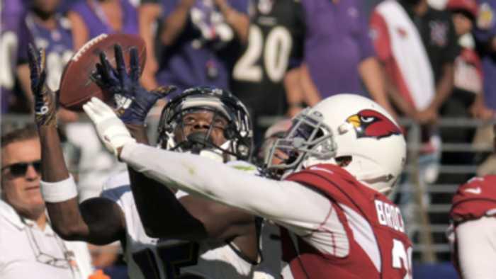 Ravens' Marquise Brown on key third down play