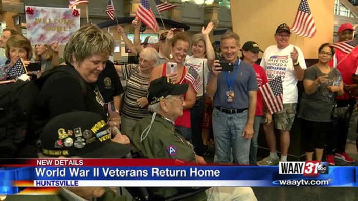 WWII Veterans Return From Europe