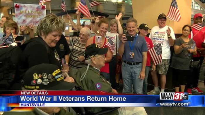 WWII Veterans Return From Europe