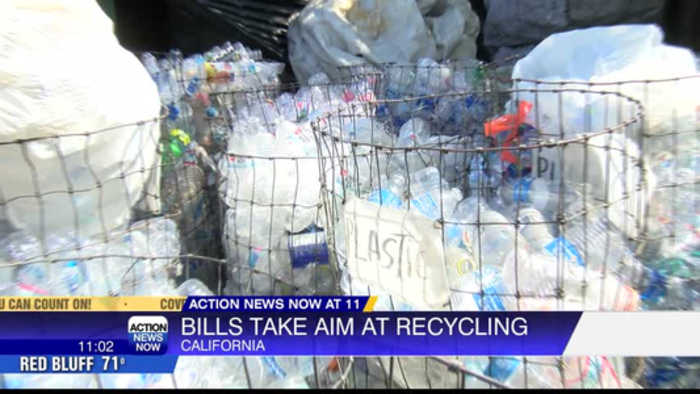 Bill would require plastic bottles to contain certain amount of recycled material
