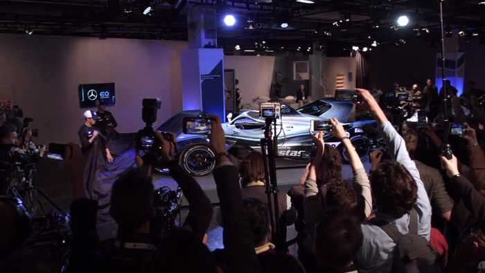 Beginning of a new era - Mercedes-Benz EQ Formula E Team presents new car