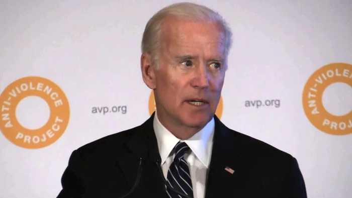 Biden Says Whites Can't Fully Understand Racism