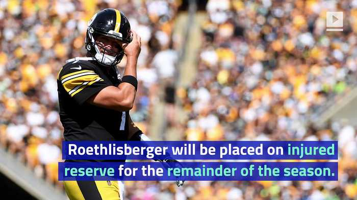 Ben Roethlisberger to Miss Remainder of Season After Elbow Surgery