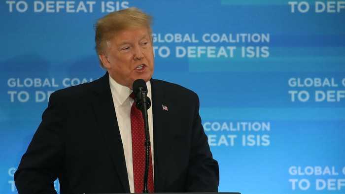 Donald Trump Blames Attack On Saudi Arabian Oil Plant On Iran