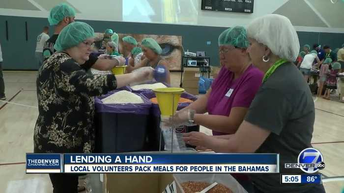 Denver Fights Hunger: Local non-profit to send 1 million meals to Bahamas