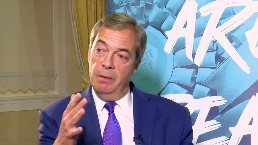Brexit will be delayed again when PM Johnson's deal falls, Nigel Farage says