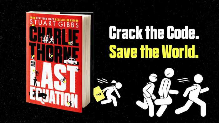 CHARLIE THORNE AND THE LAST EQUATION by Stuart Gibbs | Book Trailer