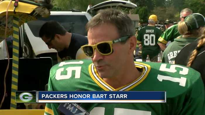 Bart Starr Honored