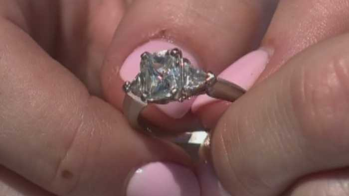Woman Swallows Engagement Ring