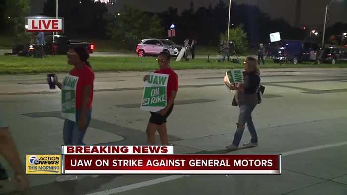 UAW on strike against General Motors