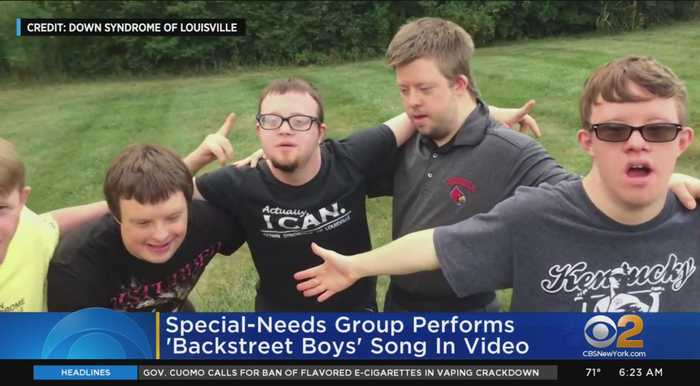 Special-Needs Group Performs 'Backstreet Boys' Song In Video