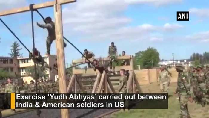 Yudh Abhyas 2019 Indian, American soldiers train together in US