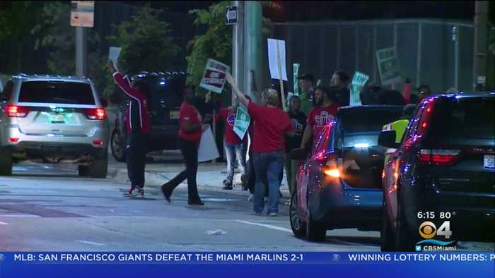 Auto Workers Strike At Nine GM Plants